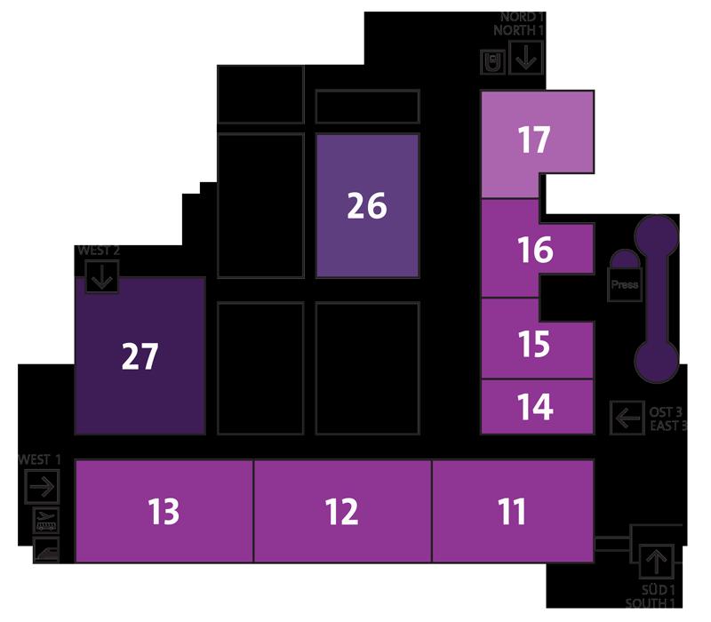 EuroBLECH 2020 Geländeplan